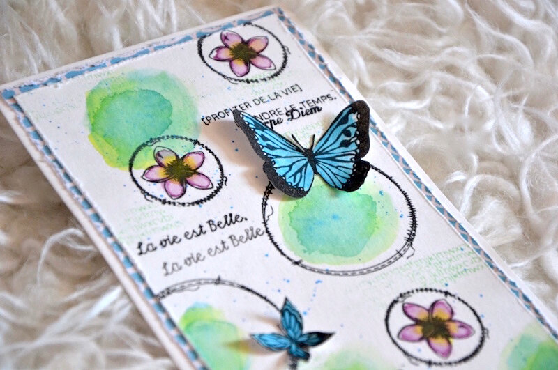 Carte d'anniversaire Lolotte 3 - Lift de carte mai 2018 de Made in Scrap