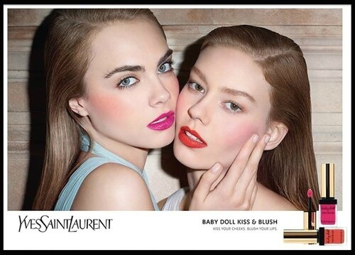 yves saint laurent kiss & blush 1