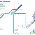 Worldwide trade network - metro style