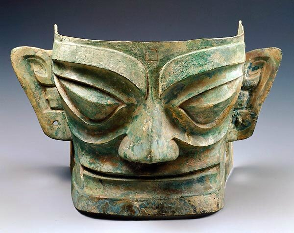 Human-like head, Shang dynasty, ca