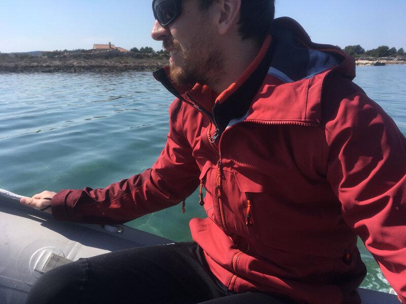 Vela luka, avec l'annexe dans le nord de la baie, mercredi 18 mars 2020 (3)