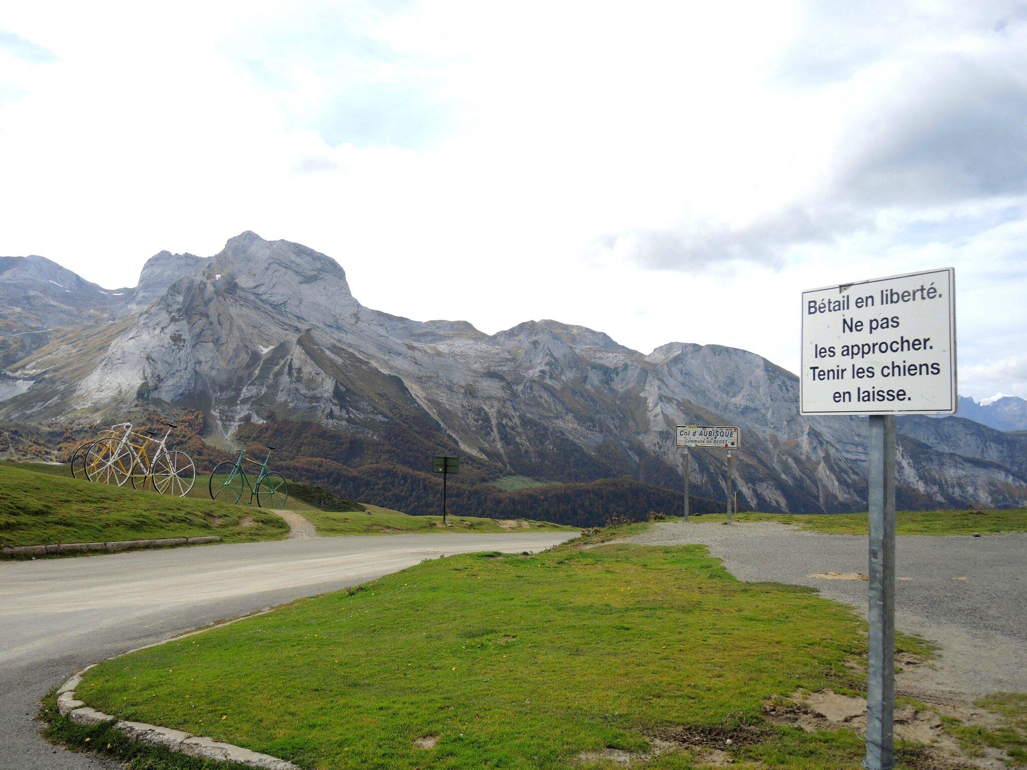 Col d'Aubisque, le sommet (64)