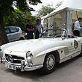 Mercedes 300 sl w198 roadster