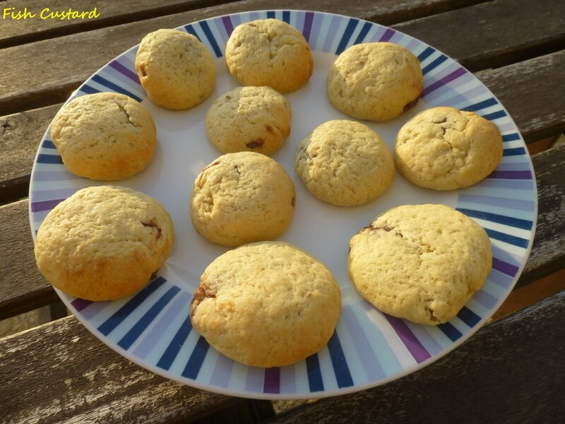 Cookies coeur coulant nutella (5)