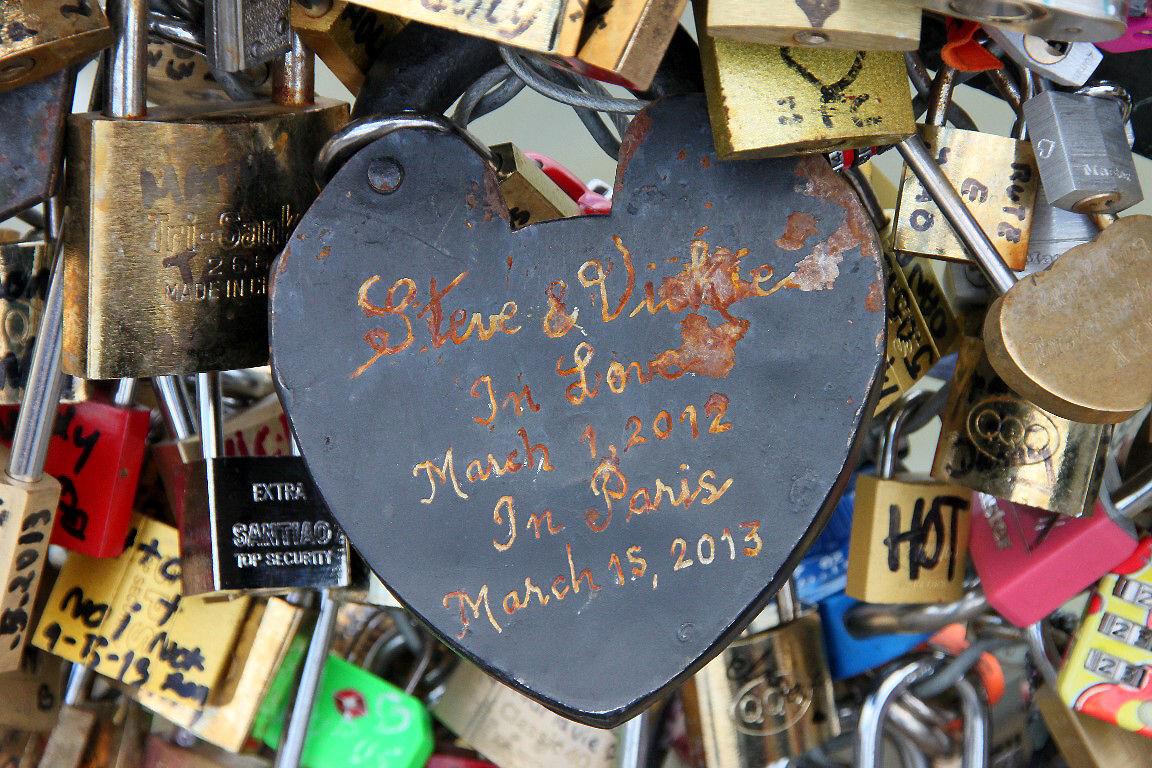 Coeur, Cadenas Pont des arts_1054