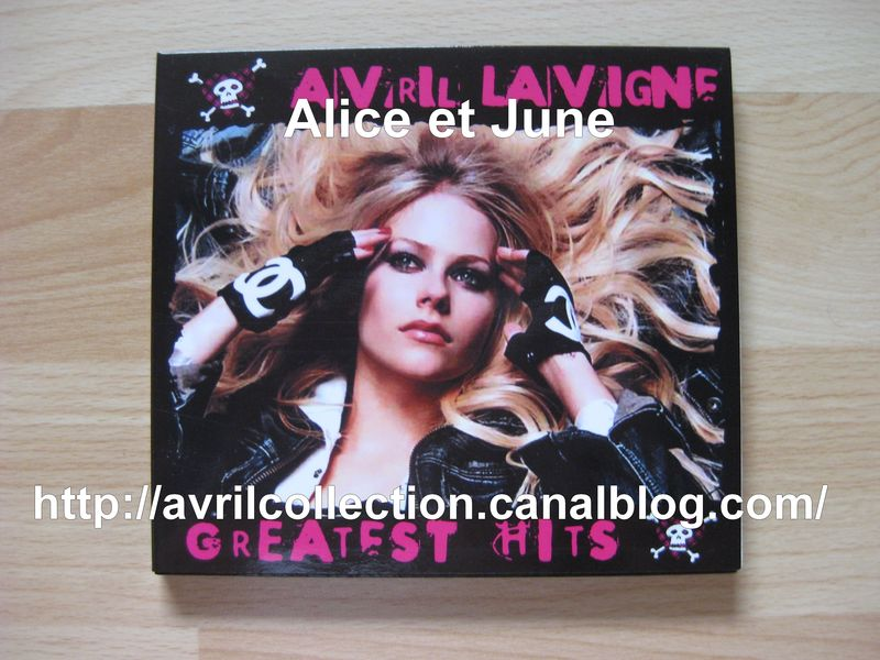 Avril Lavigne CD Greatest Hits Russia (2008)