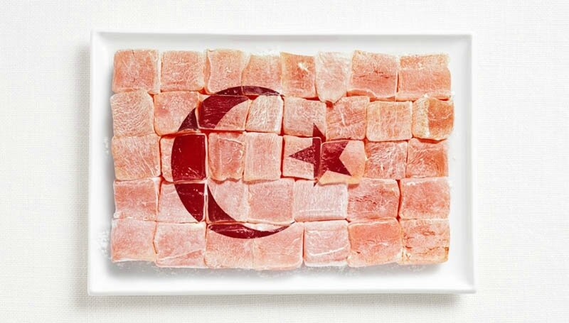 turkey-flag-made-from-food