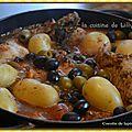 Cocotte de lapin aux olives