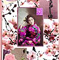 Japonaise à la fleur...
