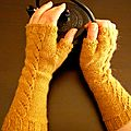 Gia fingerless gloves - mes nouvelles mitaines fétiches