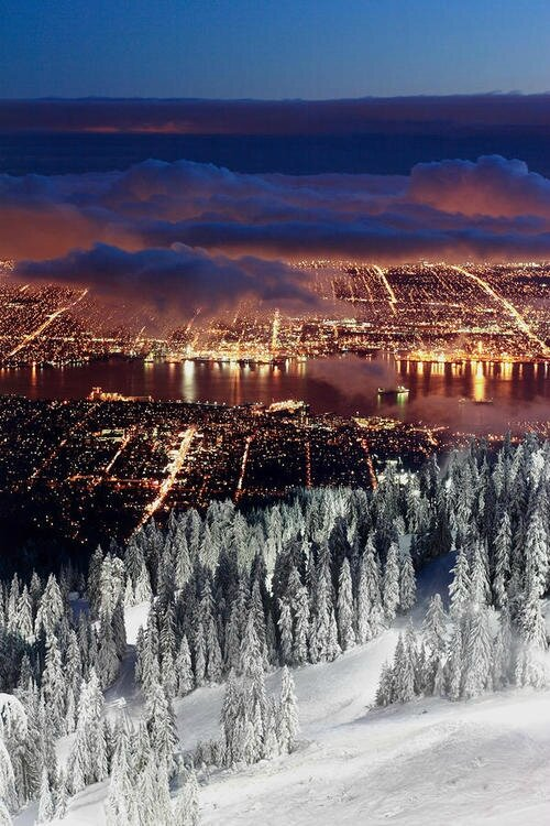 pollution lumineuse vancouver