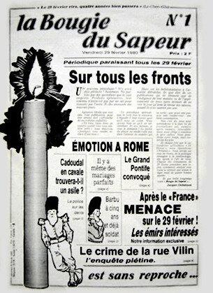 29 février, La Bougie du Sapeur