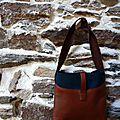 Nouveau sac en cuir