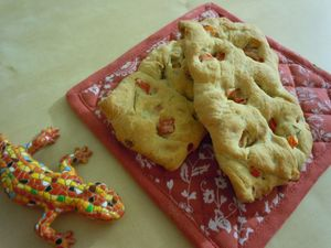 fougasse poivrons thym (3)