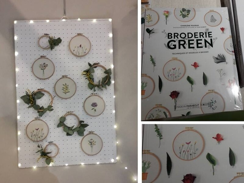 AEF 2019, broderie green