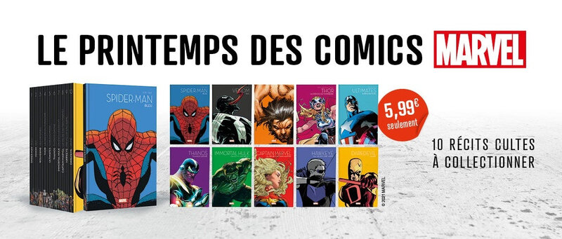 Panini Marvel Le printemps du comics 2021