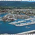Saint Tropez - les marines datée 1991