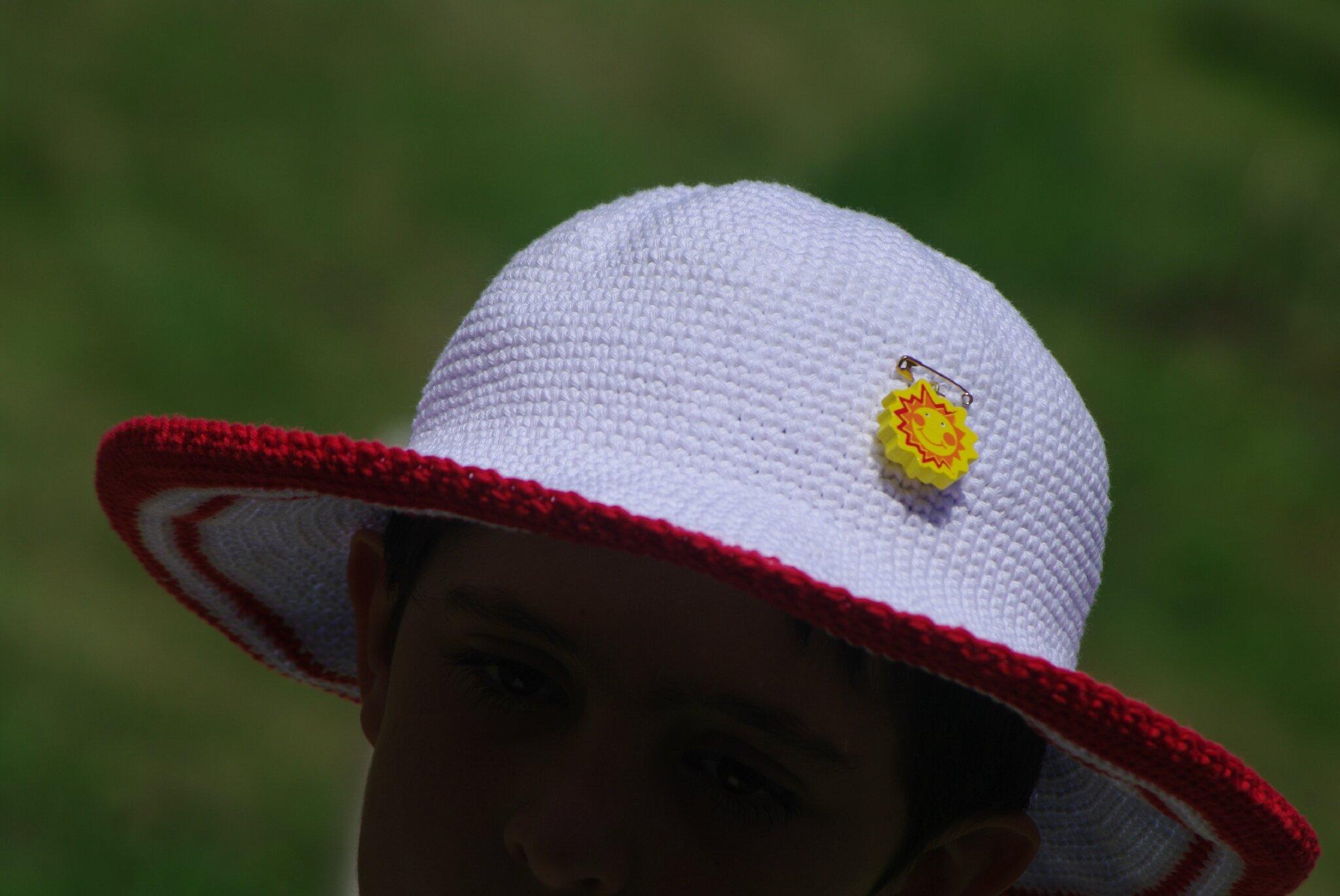 crocheter un chapeau de coton