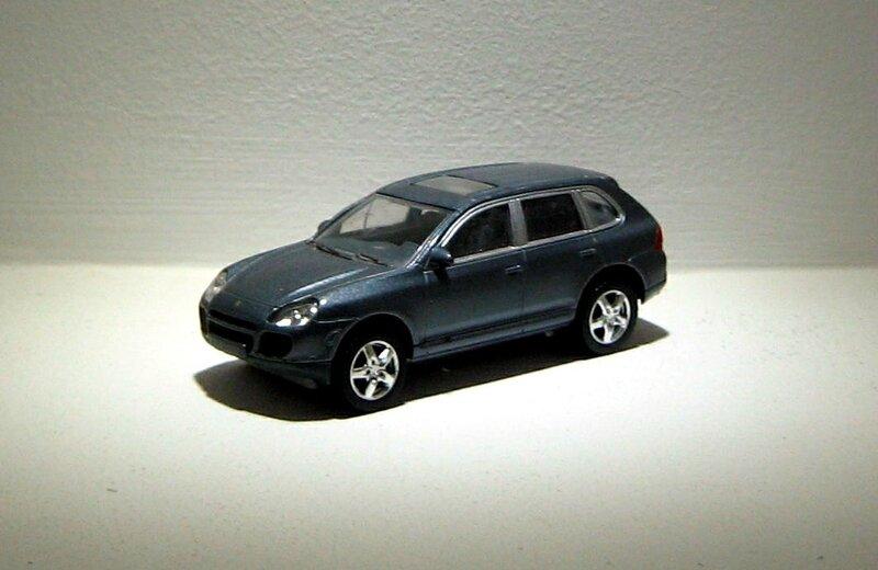 Porsche cayenne turbo (Norev)
