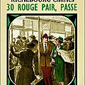 30 rouge pair, passe de charles richebourg