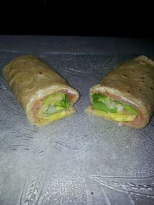 wrap-saumon-tortilla maison
