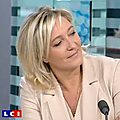 Marine le pen sur france 2 le 22/05/2014