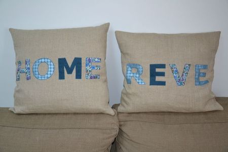 coussin h