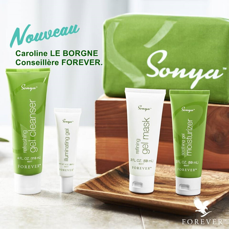 Daily Skincare Sonya, ref 609 (trousse complète)