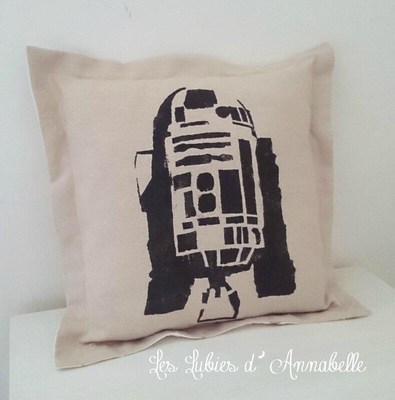 Coussins Star Wars R2-D2
