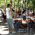 Animation décor tee-shirts fête de la jeunesse Lamanon 2006 - Animation tout public