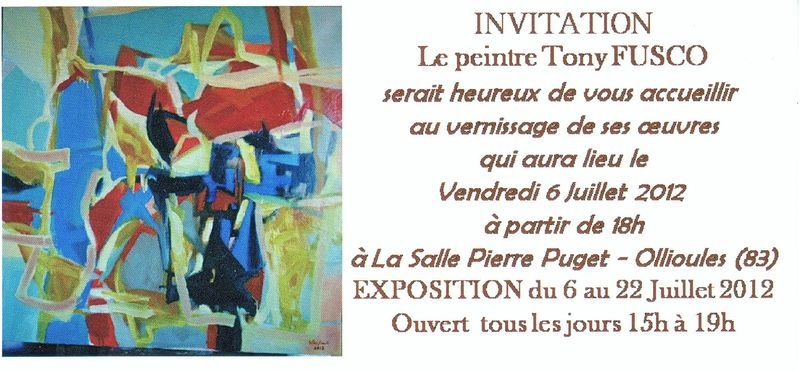 Fusco Vernissage Juillet 2012 (2)