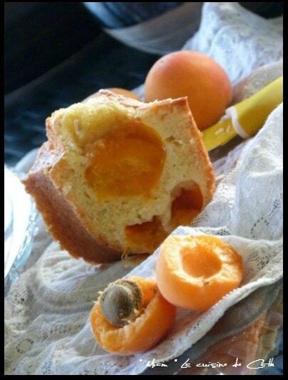 gâteau abricots