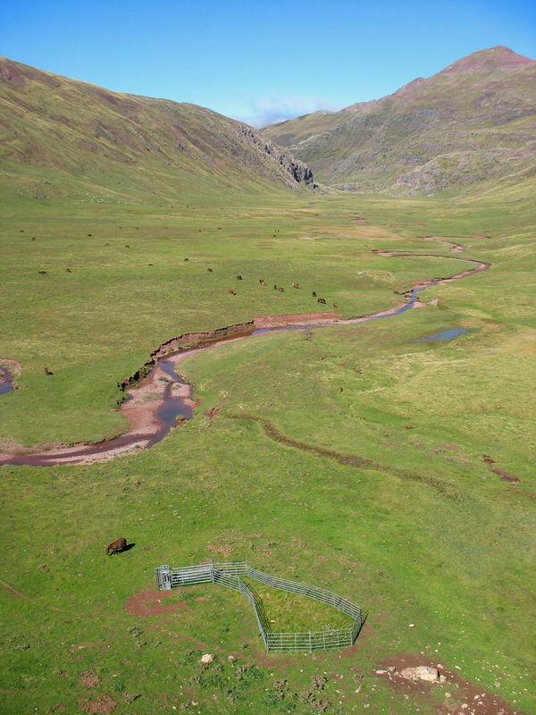Plateau de Aguas Tuertas (Espagne)