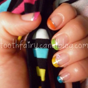 nail art arc en ciel 2