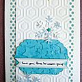 Carte hivernale pour toga