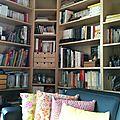 Ma journée déco : la bibliothèque