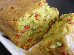 Cake poivrons & curry 2