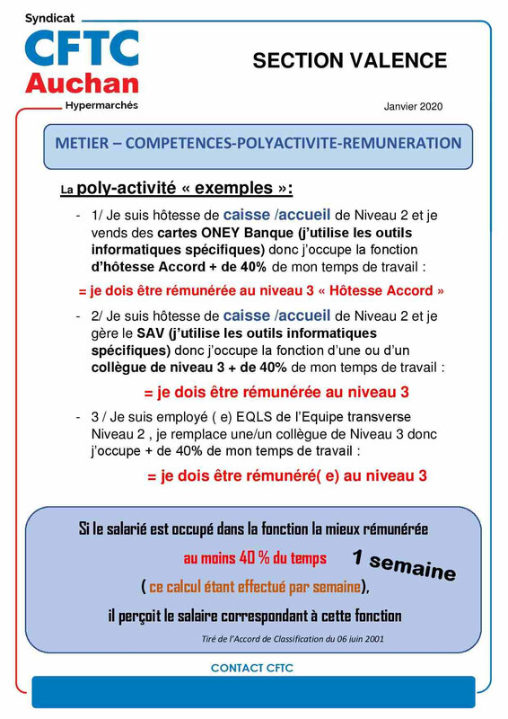 Tract Valence POLYACTIVITE REMUNERATION fin