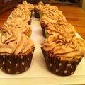 Cupcakes à la noisette et chantilly mascarpone-nutella !!