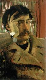 Tissot, autoportrait