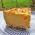 Cheese cake carotte et potimarron