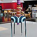 Girafe yarn bombing nantes2