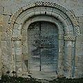 Porte d'entrée chapelle Ste Raffine