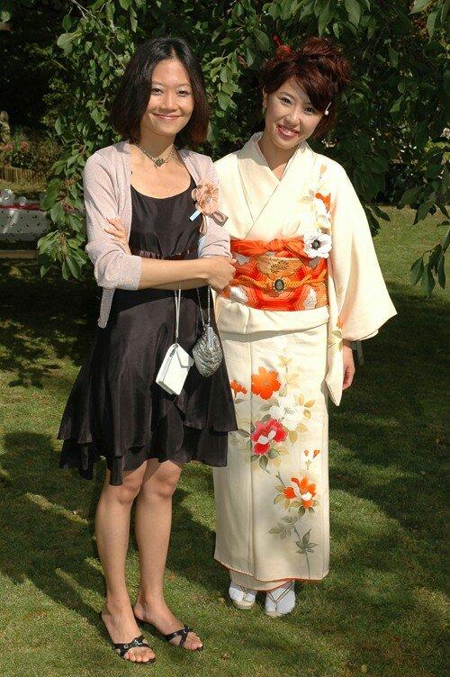 Hsin-Yi (Taiwan) et Sayaka (Japon)