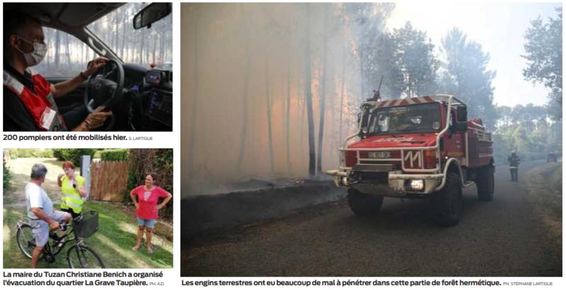2020 07 28 SO L'incendie a dévoré près de 200 hectares de forêt2