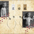 Pages de scrap digital ...