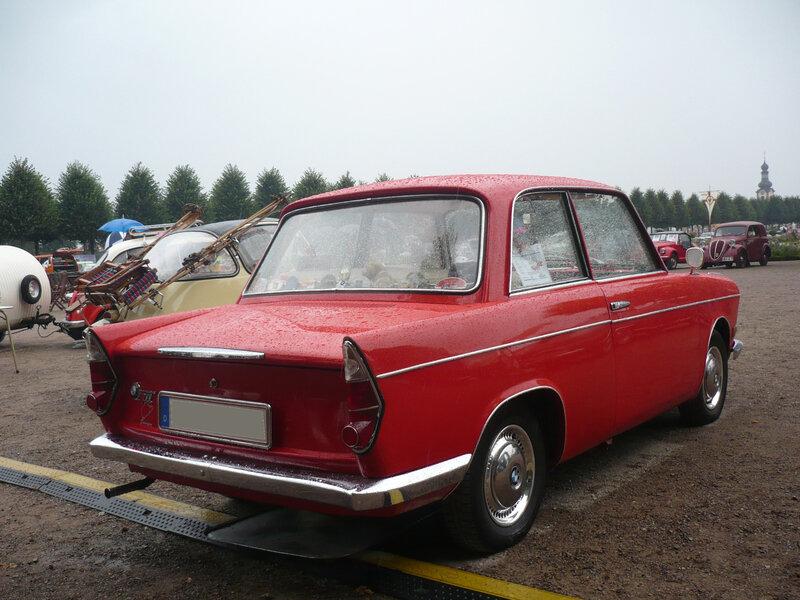 BMW 700L berline 1960 Schwetzingen (2)