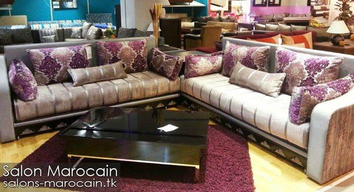 Salon marocain moderne prestigieux 2014 - Salon marocain ...