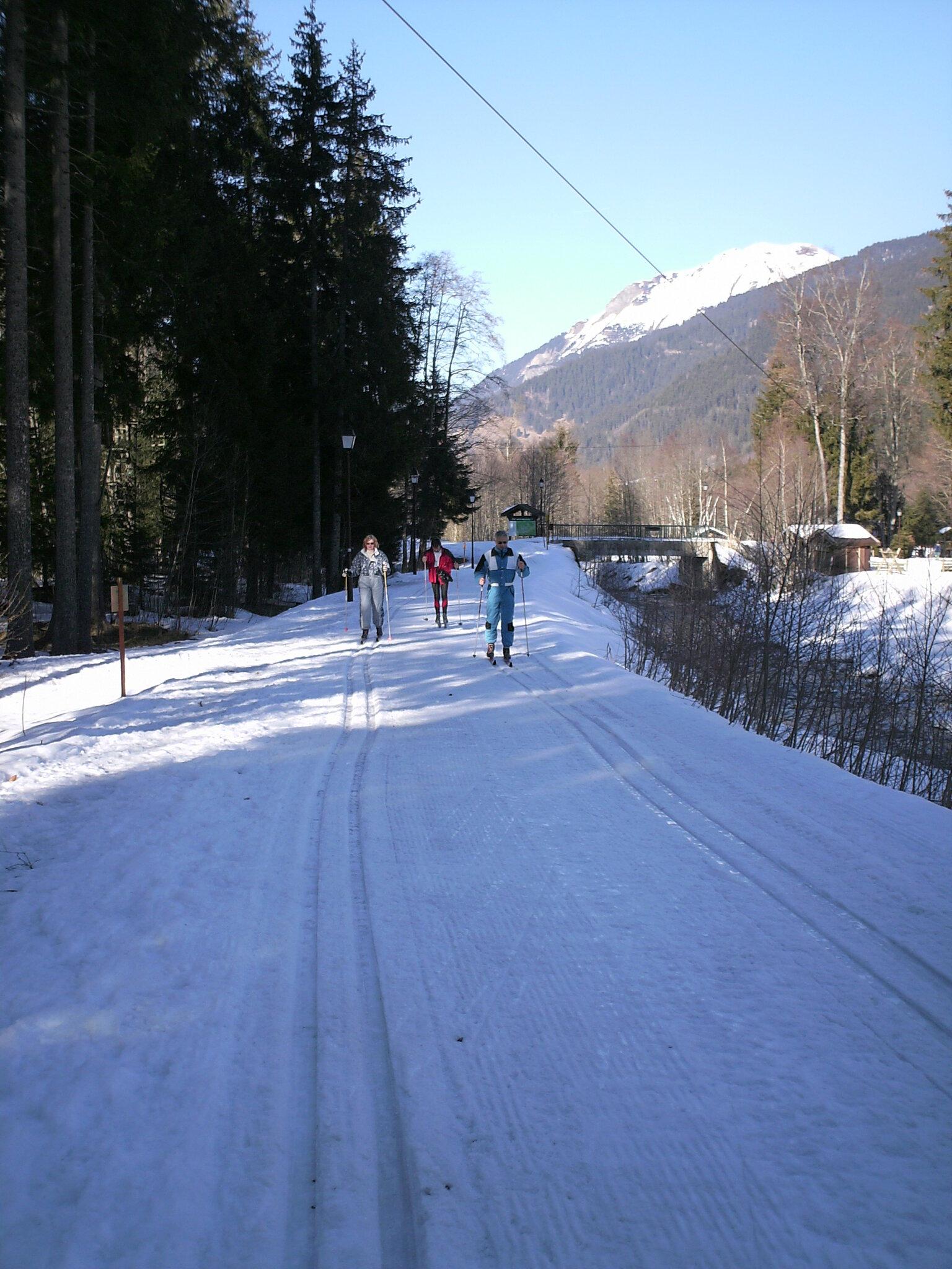Pistes de ski nordique
