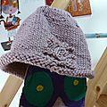 12 bonnet Ancolie